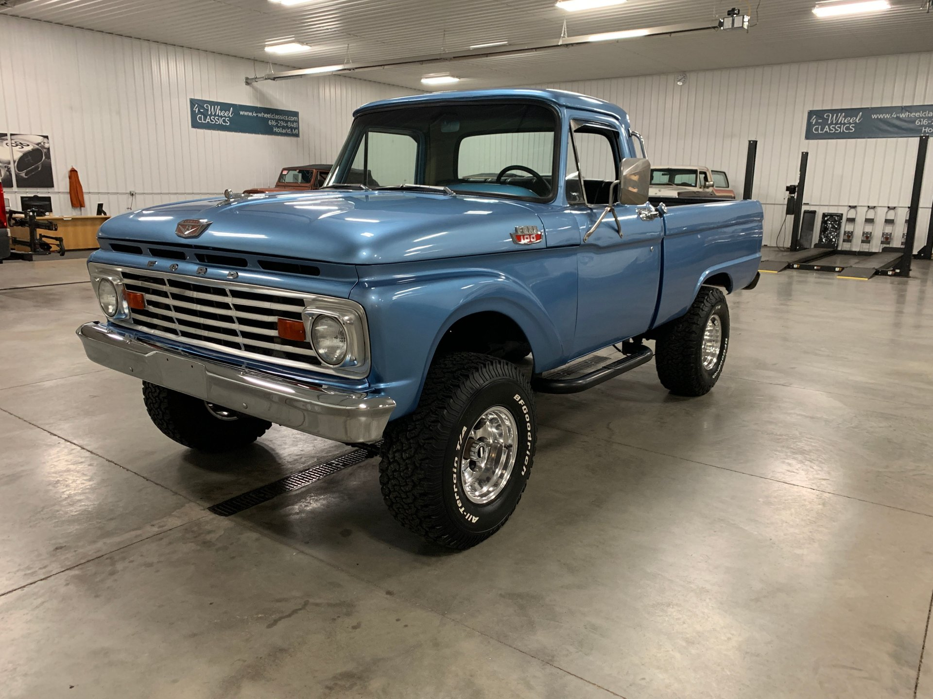 1966 Ford F100 4 Wheel Classics Classic Car Truck And Suv Sales