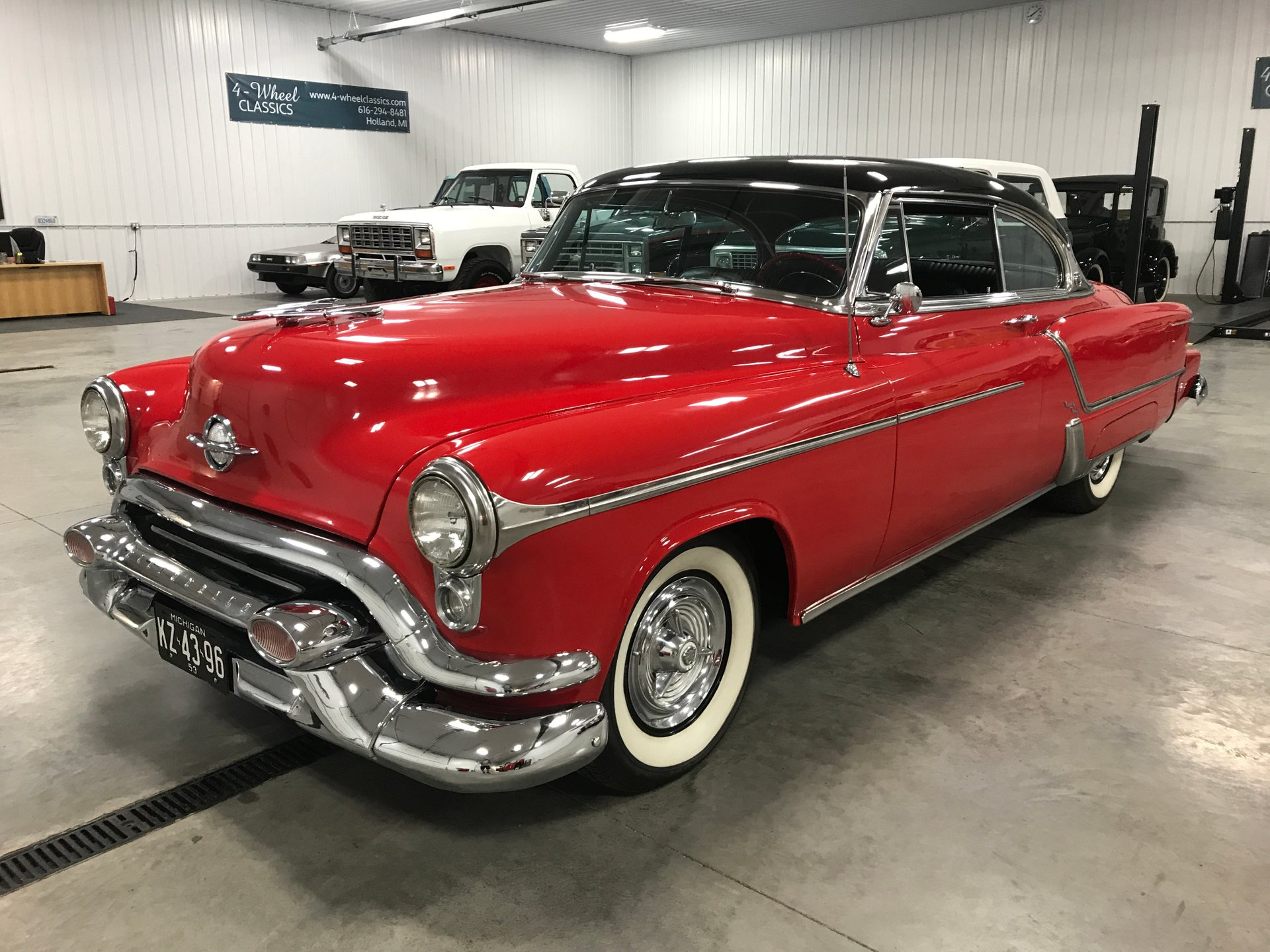 1953 oldsmobile ninety eight holiday coupe