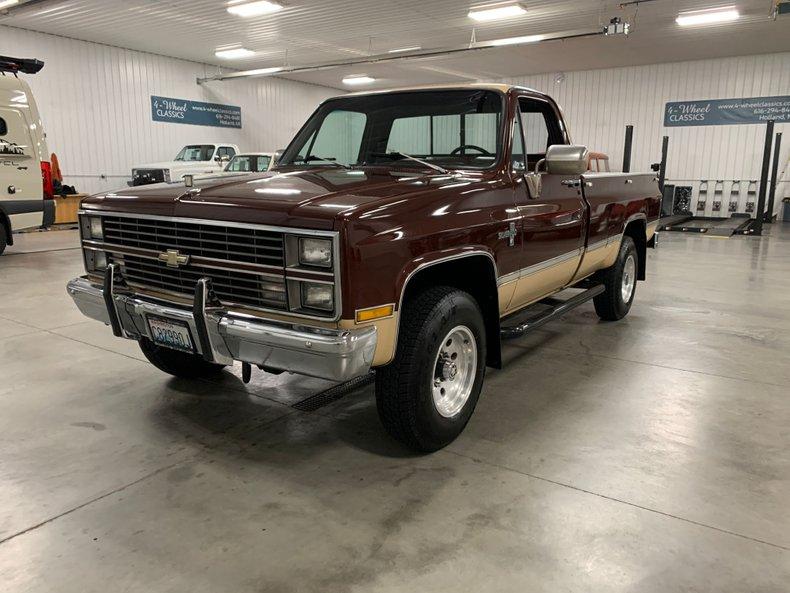 1983 Chevrolet Silverado K-20