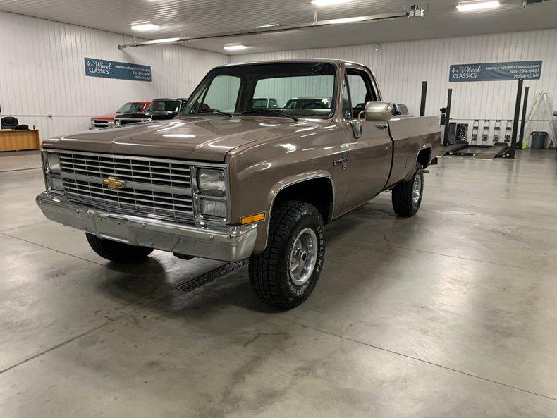 1984 Chevrolet Scottsdale K-10