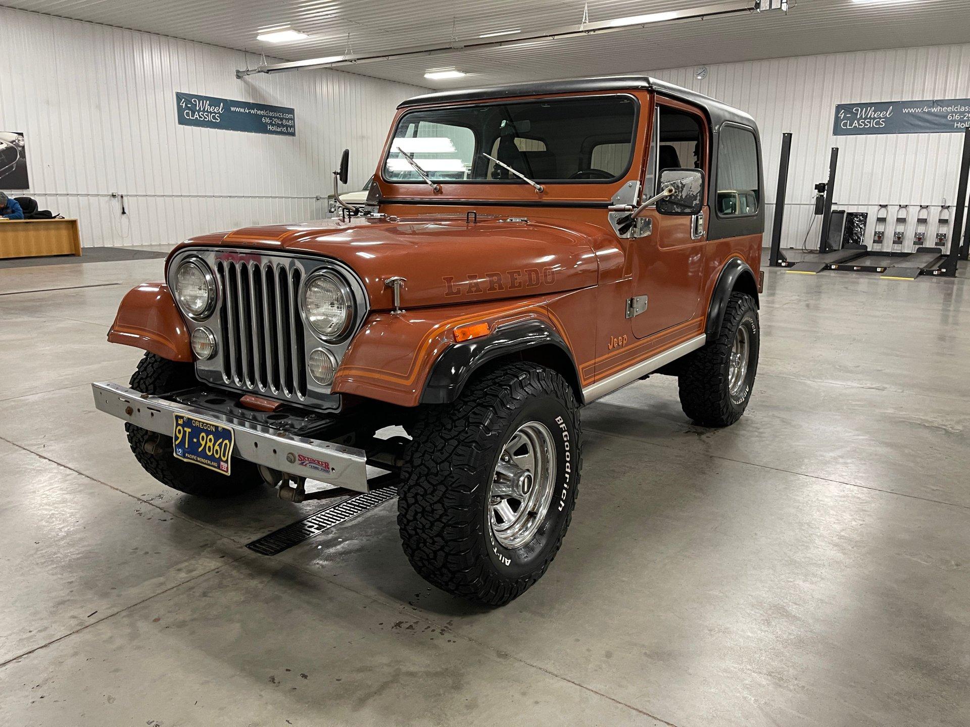 1983 jeep cj 7 laredo