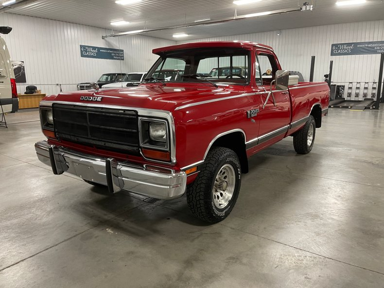 1986 Dodge W150