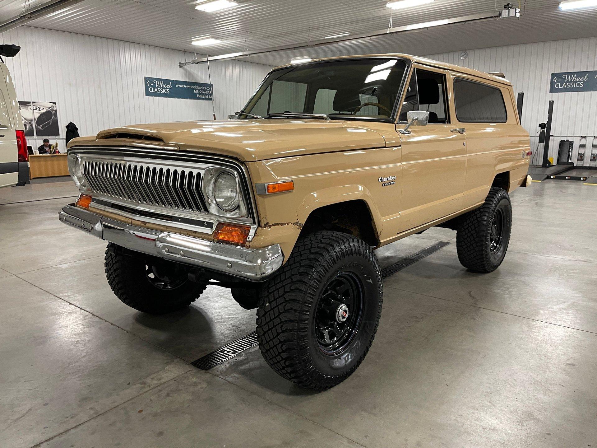 1976 jeep cherokee
