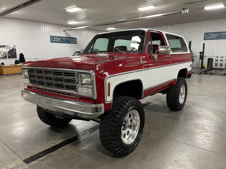 1980 Chevrolet K-5 Blazer