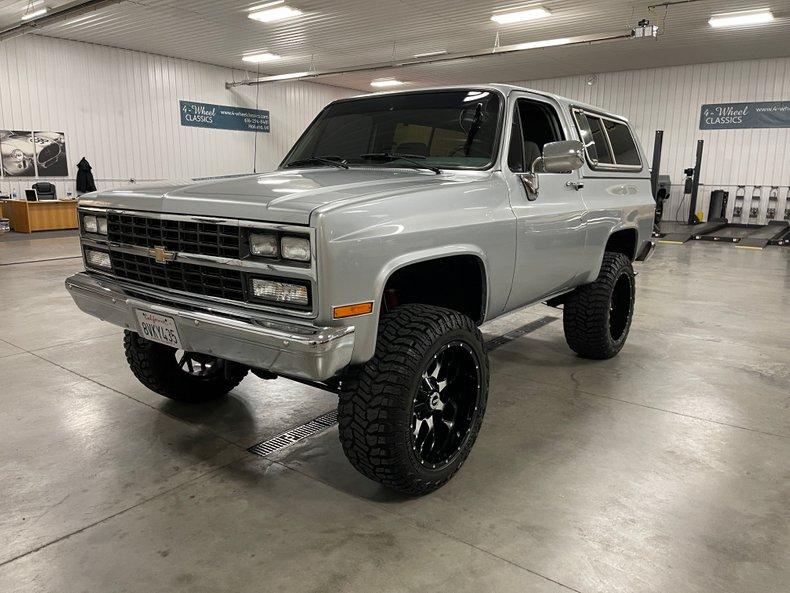 1990 Chevrolet K-5 Blazer