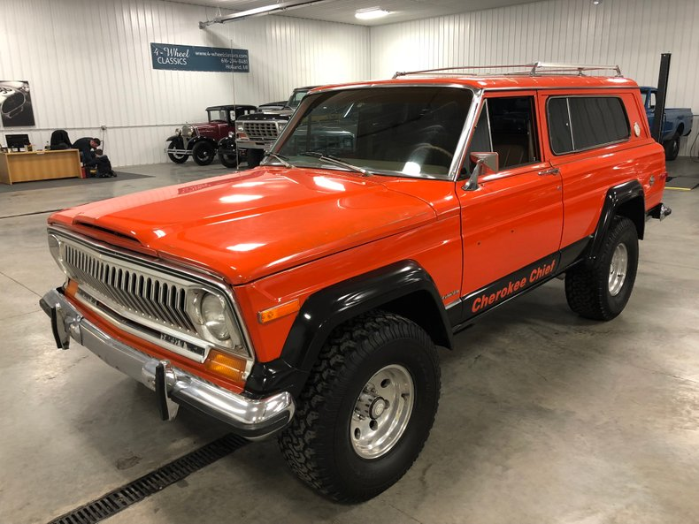 1978 jeep cherokee | 4-wheel classics/classic car, truck, and suv sales