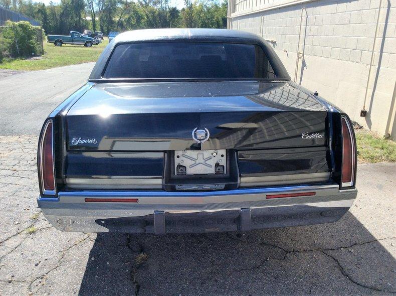 1993 cadillac fleetwood limo