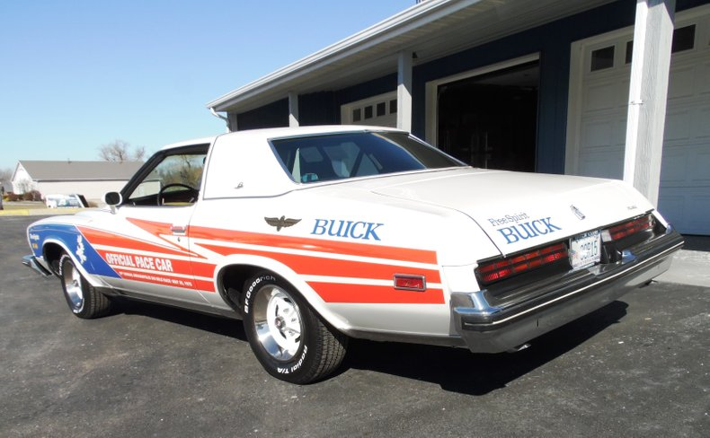 1975 buick regal pace car replica