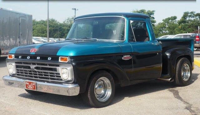 1966 ford f100 custom
