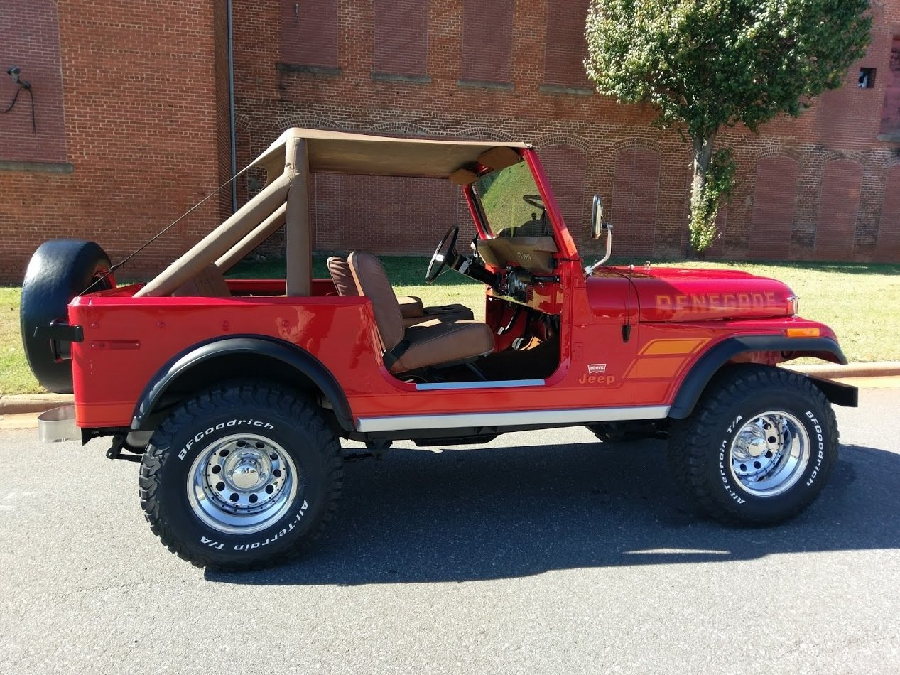 1977 jeep wrangler levi edition
