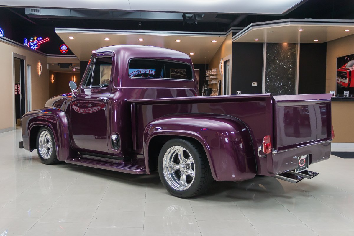 1955 Ford F100 Gaa Classic Cars Pancaked Frame Off Restoration
