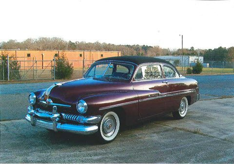 1951 mercury monterey coupe