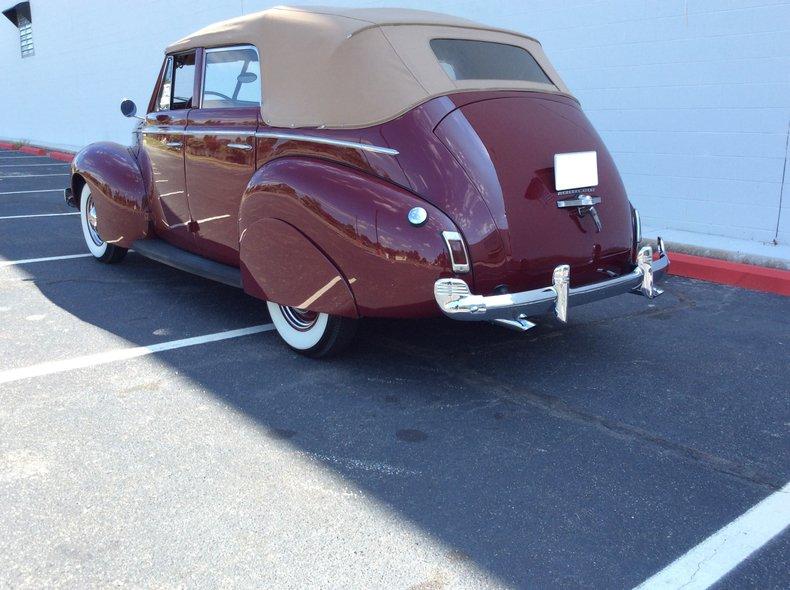 1940 mercury eight convertible