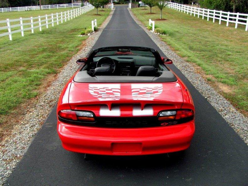2002 chevrolet camaro ss convertible