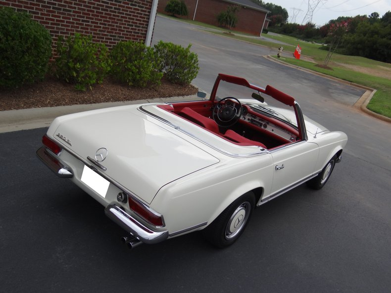 1968 mercedes benz 280 sl