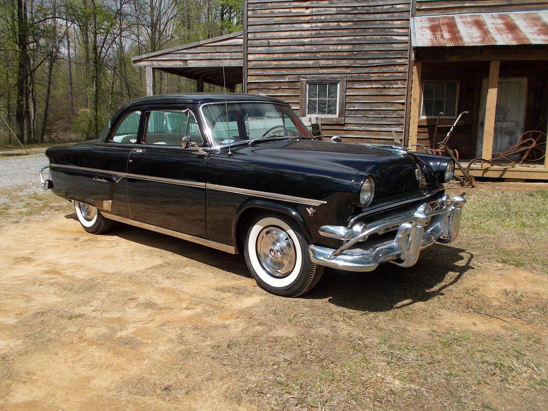 1954 ford customline club