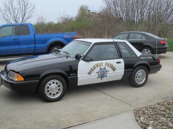 1993 ford mustang 5 0 ssp california highway patrol car