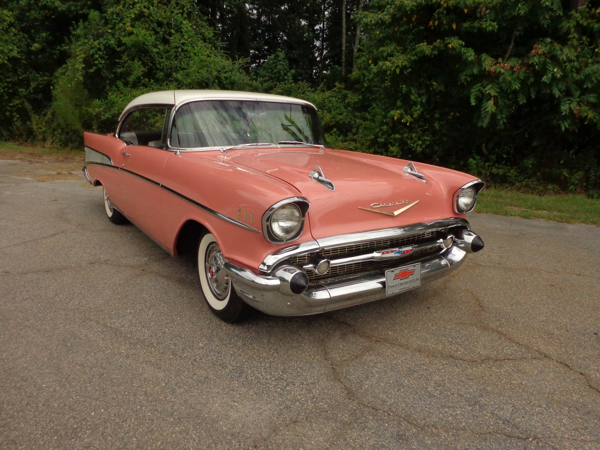 1957 chevrolet bel air sport