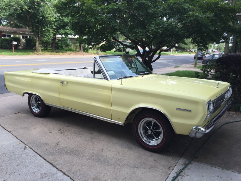 1967 plymouth belvedere ii