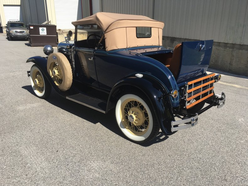 1930 ford model a roadster deluxe