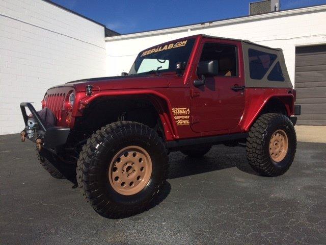 2012 jeep wrangler rubicon custom