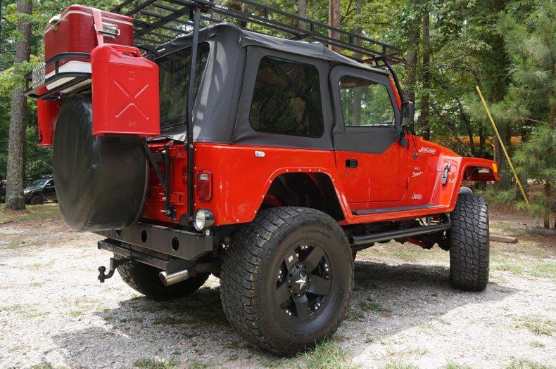 2001 jeep wrangler land runner