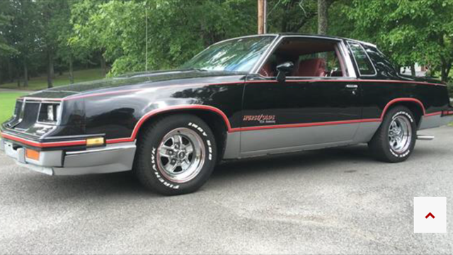 1983 oldsmobile hurst 15th anniversary