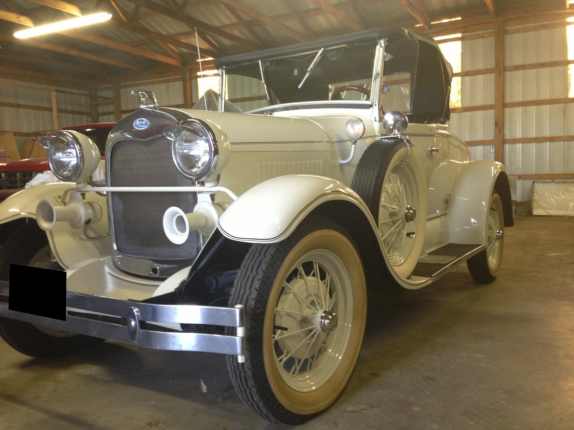 1981 shay model a reproduction