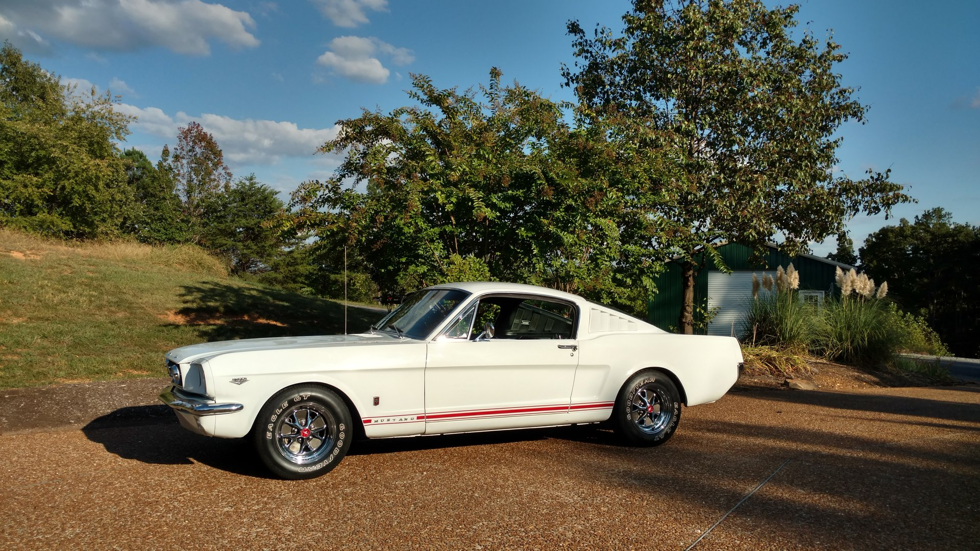 1965 ford mustang a code 4 barrell