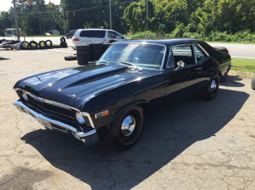 1970 chevrolet nova copo tribute