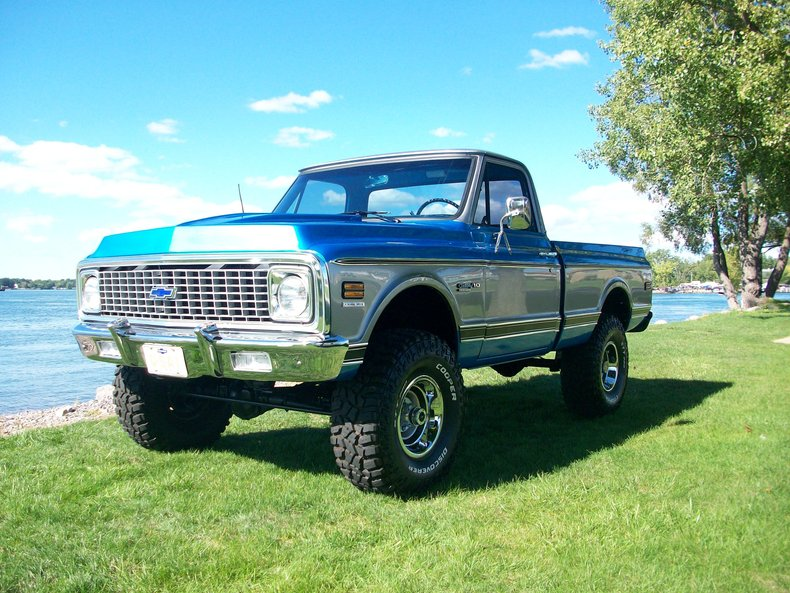 1971 chevrolet pick up