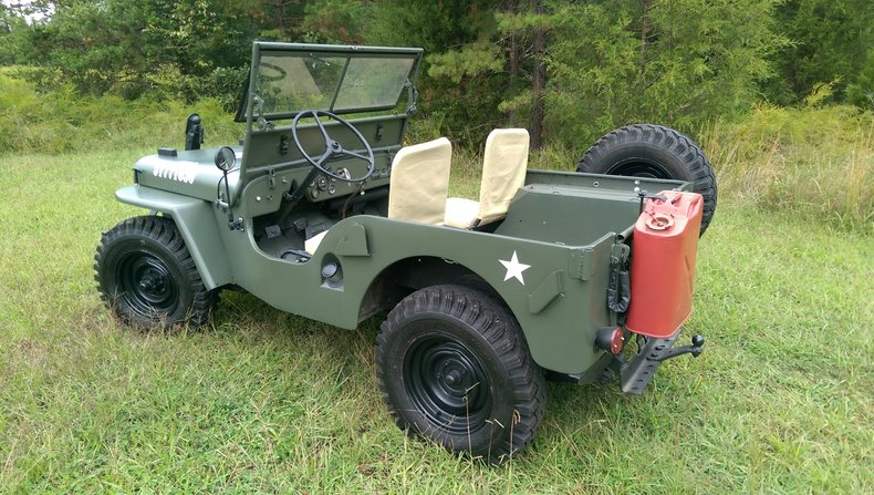 1948 willys cj 2a