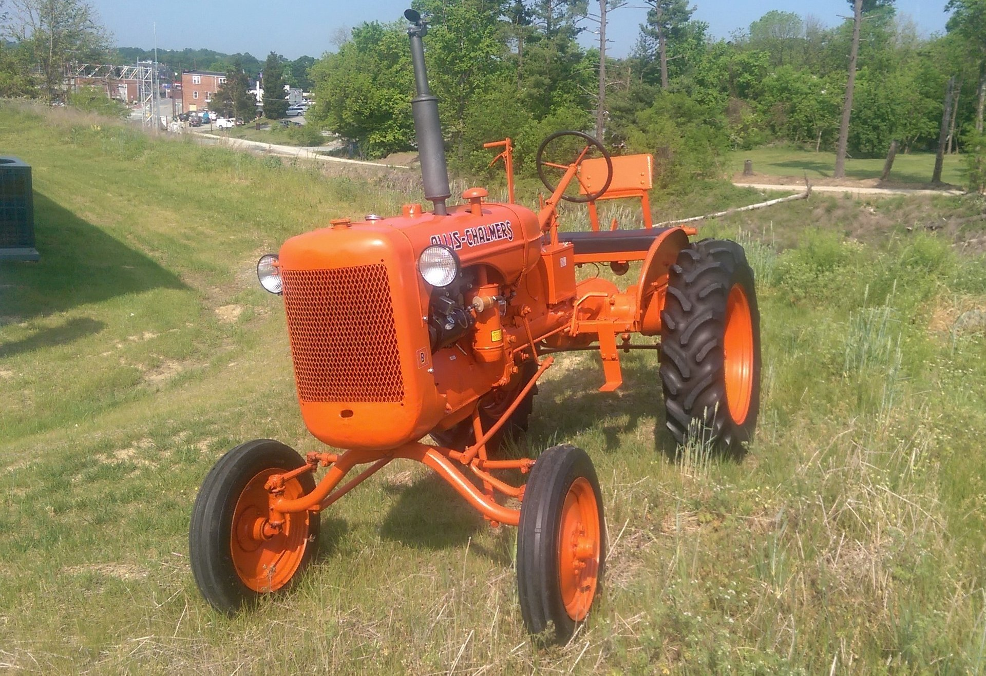 1948 allis chalmers tractor b