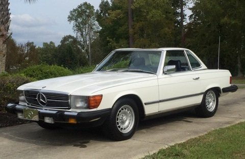 1983 Mercedes-Benz SL380