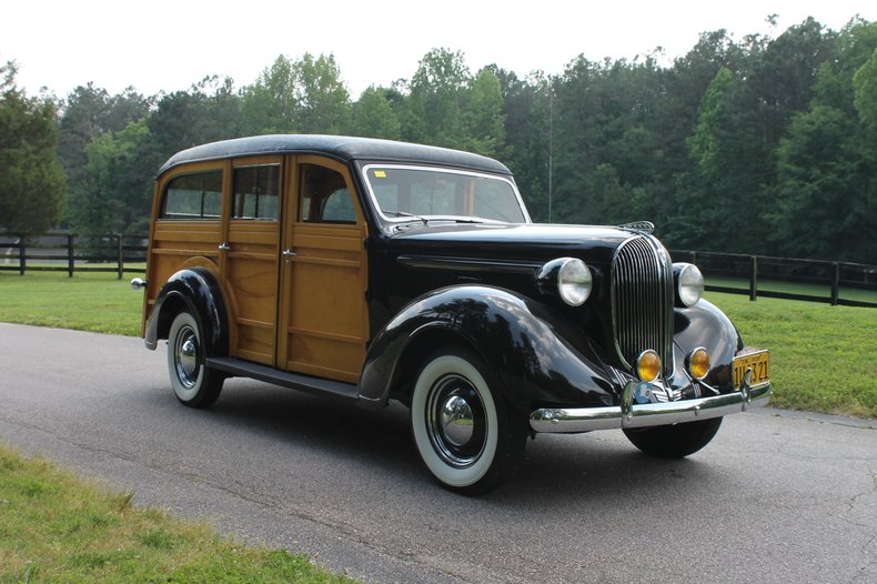 1938 Plymouth Woody Wagon