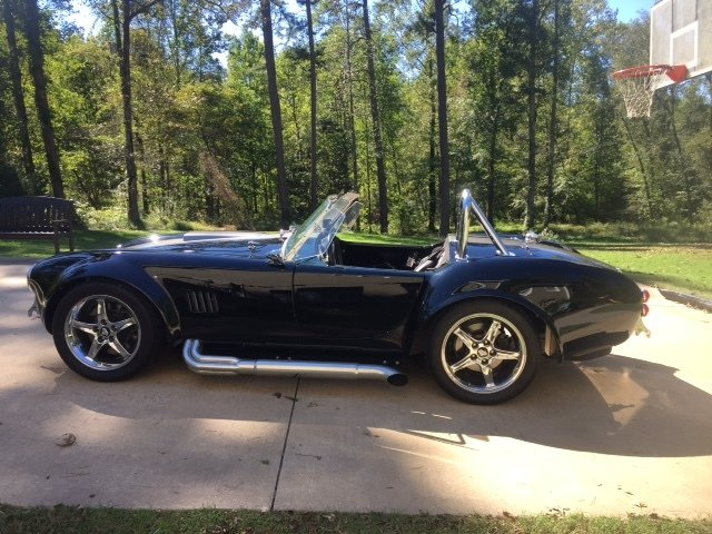 1965 cobra replica convertible