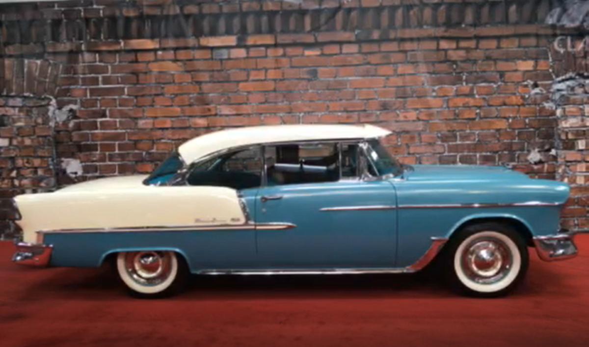 1955 chevrolet 2 door sedan hardtop