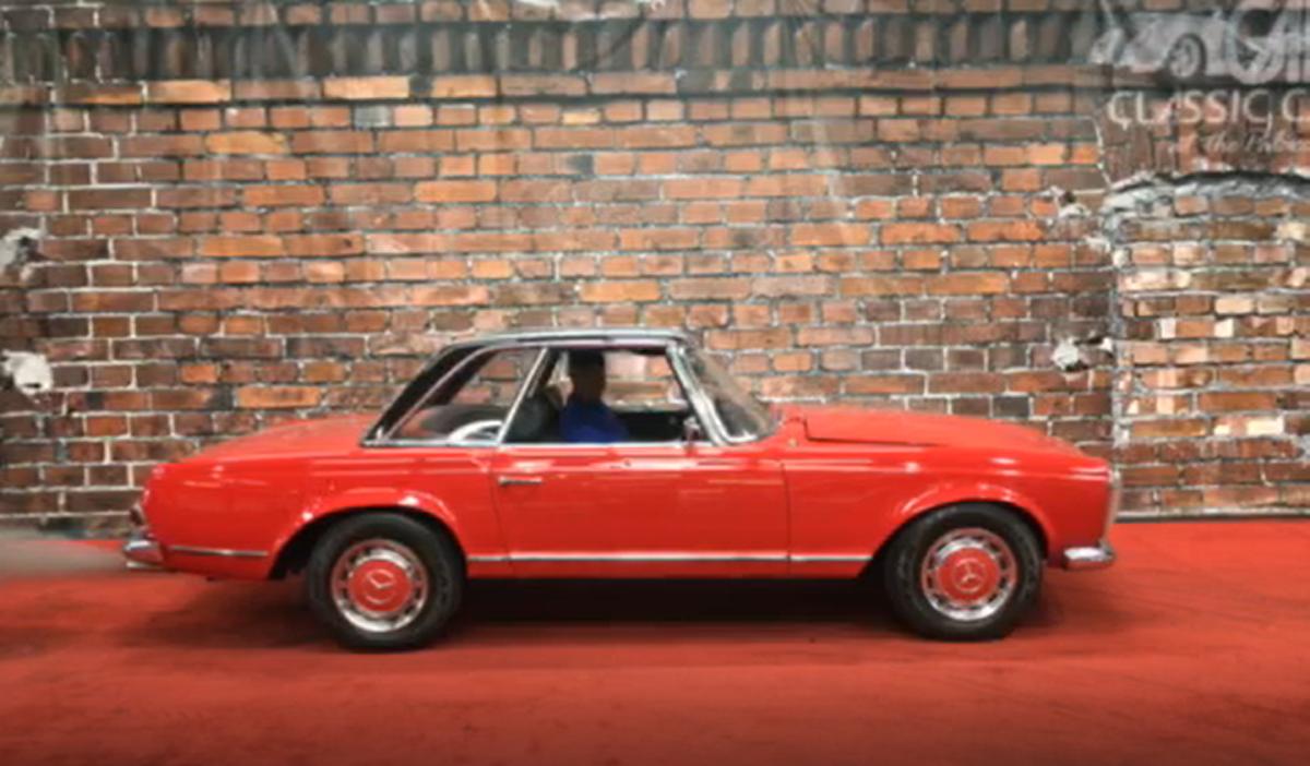 1964 mercedes benz 230 sl