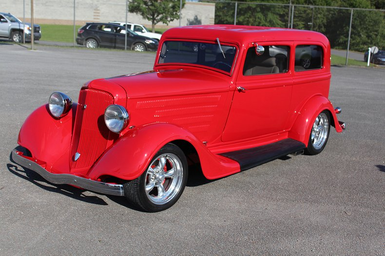 1934 plymouth 2 door sedan