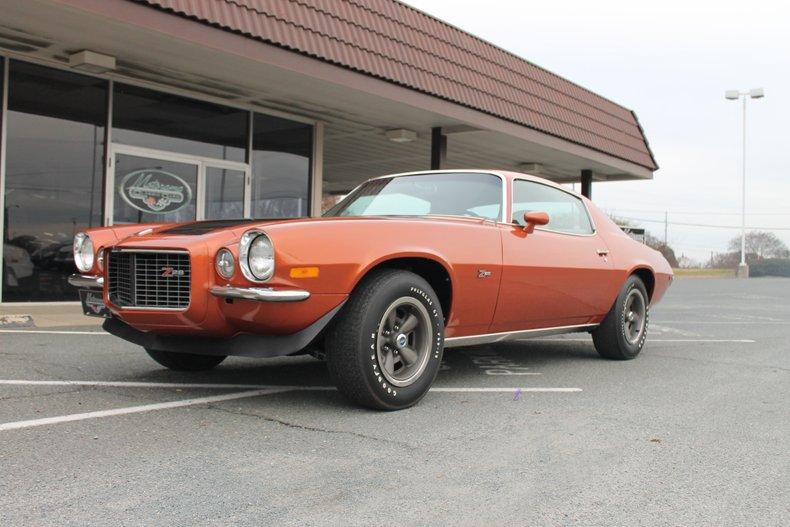 1971 chevrolet camaro z28 rs