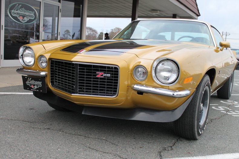 1972 chevrolet camaro rs z28