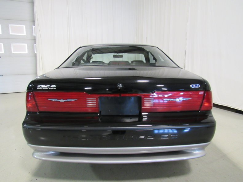 1990 ford thunderbird super coupe silver anniversary