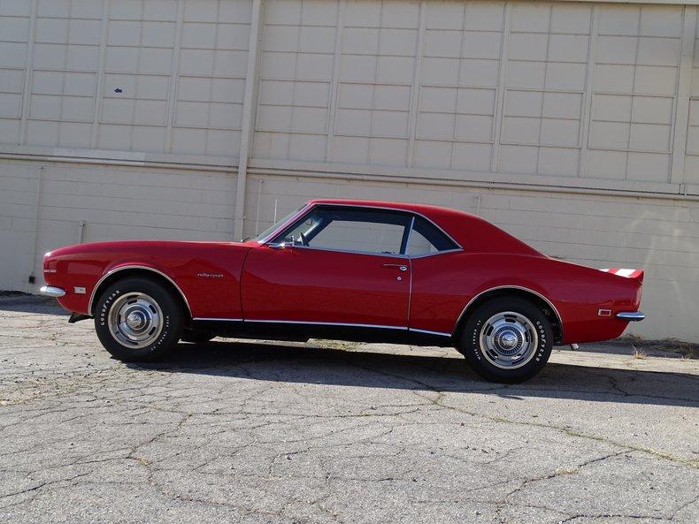 1968 chevrolet camaro z28 rs