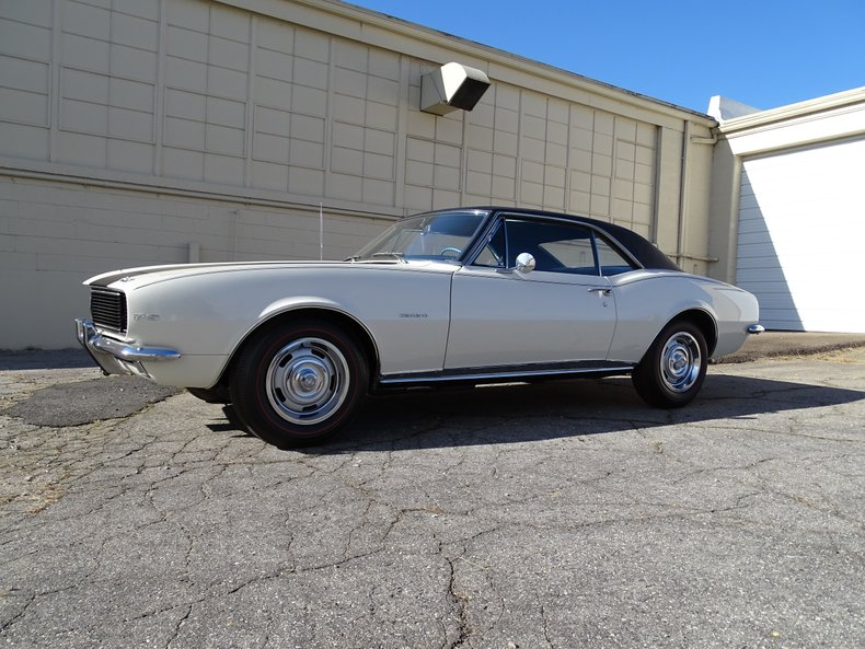 1967 chevrolet camaro z28 rs