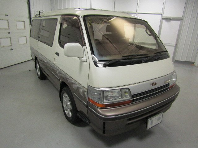 1991 toyota hiace super custom limited van