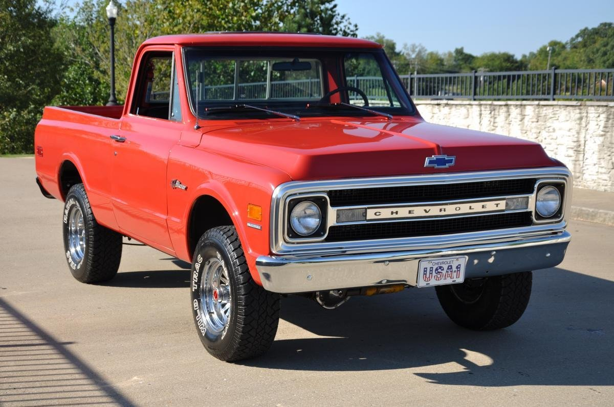 1969 chevrolet blazer custom