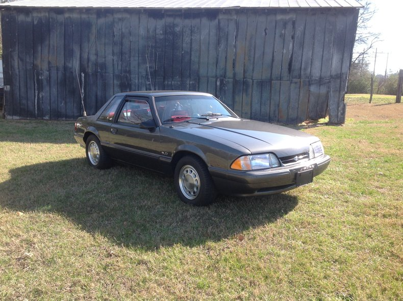 1992 ford mustang ssp police