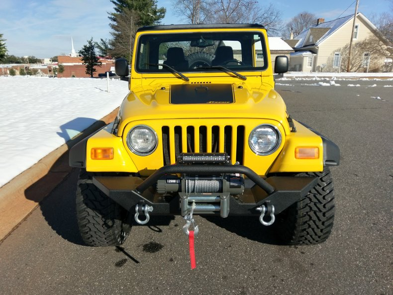 2004 jeep wrangler scrambler edition