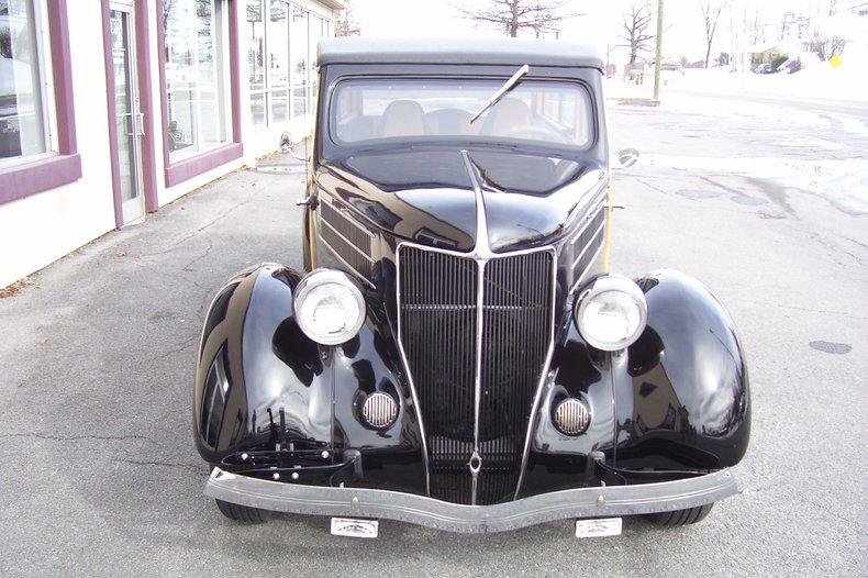 1936 ford tudor woody wagon