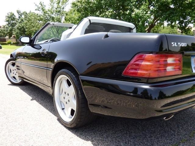 2001 mercedes benz sl500 amg sport package